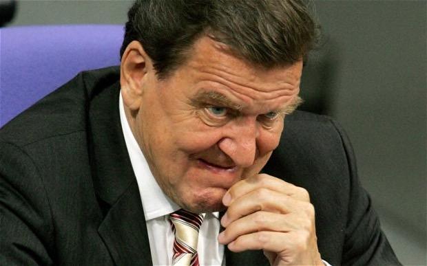 Noch Vodka und Kaviar gefällig, lieber Gazprom-Gerd...?