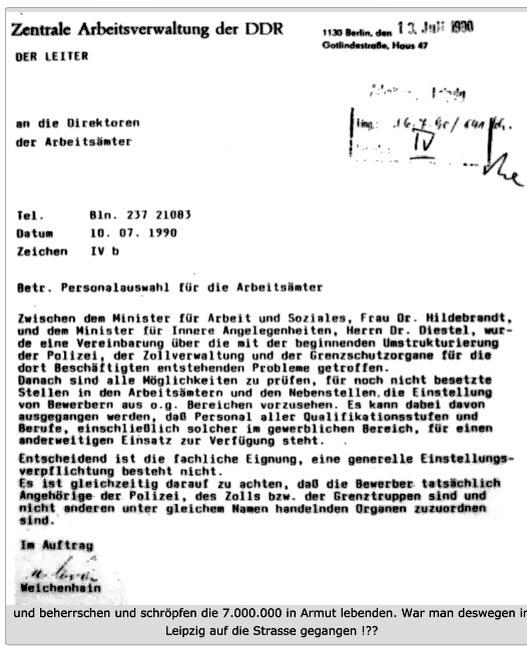 Stasiorgane treiben ihr Unwesen in den Sanktionscentern Deutschlands!