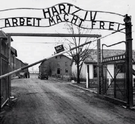 Hartz4 - Arbeit macht frei!