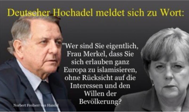 Multi Kulti Wahn - Merkel islamisiert Europa!