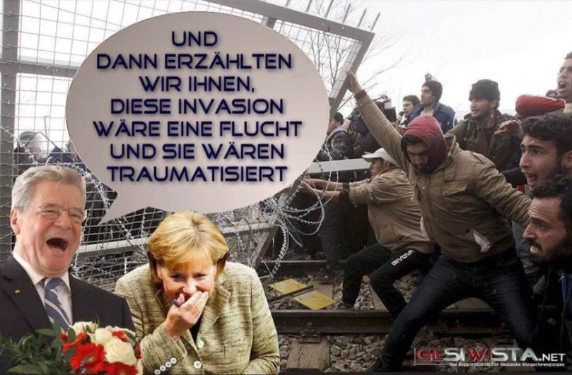 Merkels Fachkräfteinvasion!