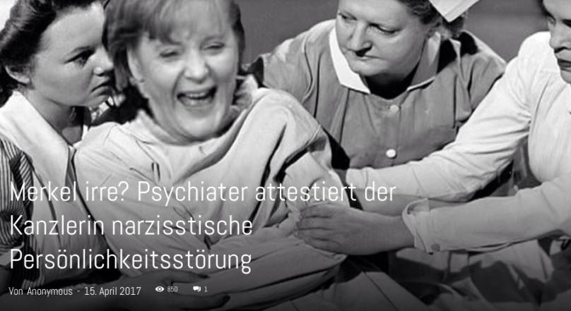 IM Erika Merkel Kasner irre?