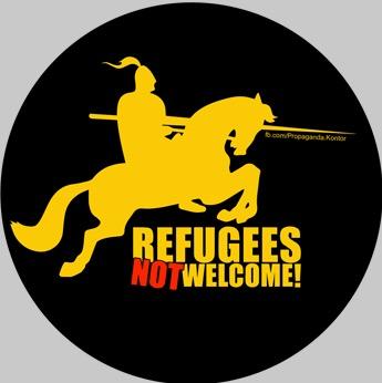 Während Sören und Thorben noch hinter der Gardine stehen, geht bei Kevin, Marcel und Enrico schon die Post ab…Ossis auf die Straße – Revolution – Merkel muss weg !!!