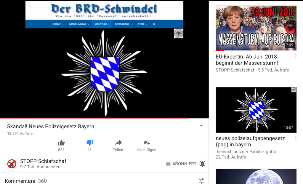 """Neues PAG Polizeigesetz in Bayern ermöglicht in Kürze den totalen Polizeistaat…dank Seehofer's """"HEIMATMINISTERIUM"""" bald auch in der ganzen BRiD?"""