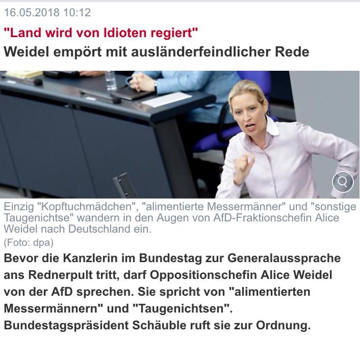 Alice Weidel: