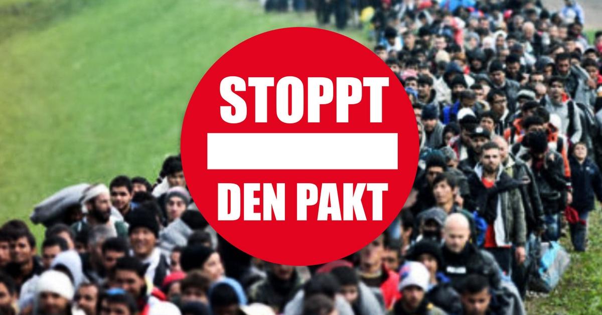 Gedanken zum UN Migrationspakt…also dem geplanten Untergang Deutschlands und Europas!
