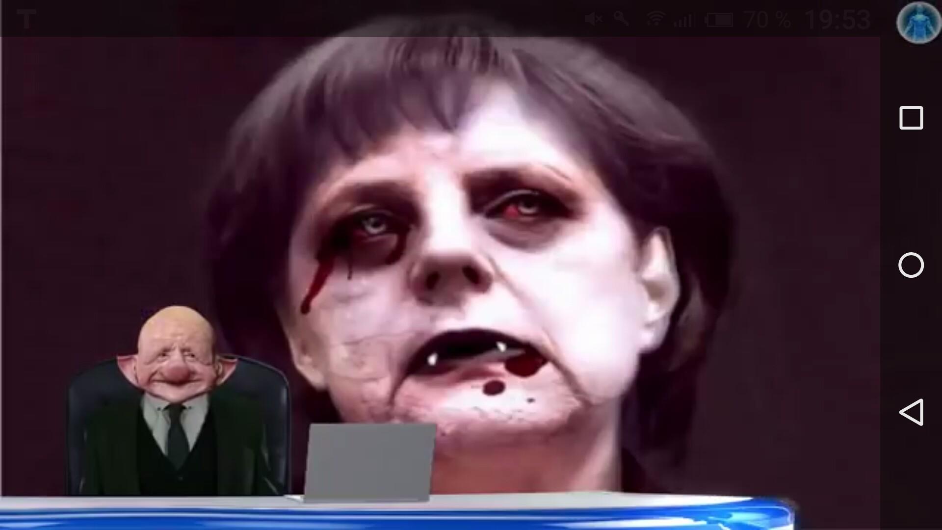 """Schau dir """"Es ist 5 vor 12: """"Merkel soll Deutschland zerstören""""! [Ein Insider packt aus]."""" auf YouTube an"""
