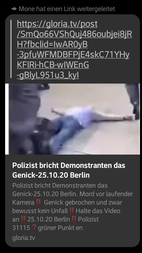 """""""Polizist"""" bricht bei Berlin Demo am 25.10.2020 vor laufender Kamera einem Demonstranten das Genick…und der Mainstream schweigt!??"""