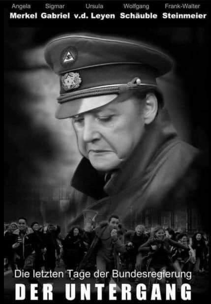 Bildersammlung-Merkel-Diktatur