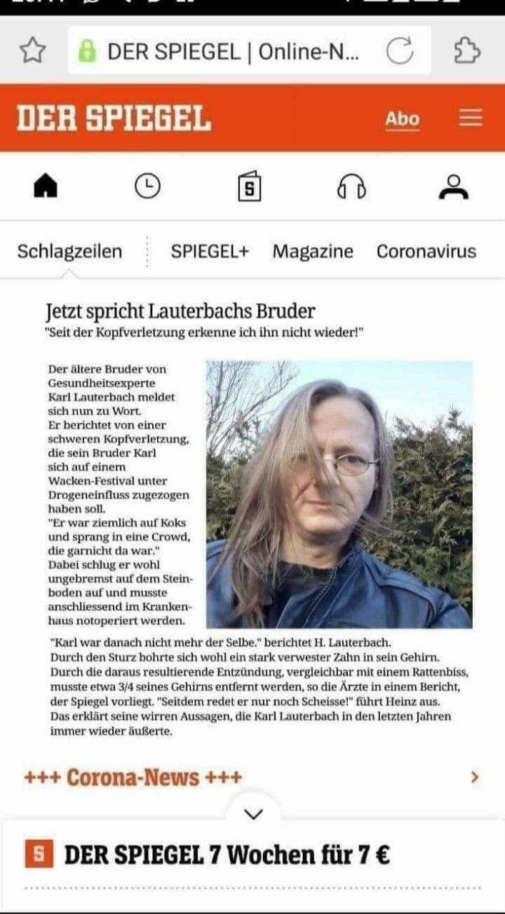 DER LETZTE CORONA-TOTE in Bayern MIT SYMPTOMEN STARB BEREITS AM 13.10. 2020…seither ‼️KEINER‼️ MEHR MIT SYMPTOMEN…!!!
